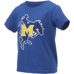Gen2 Toddlers' McNeese State University Primary Logo Short Sleeve T-shirt - view number 3