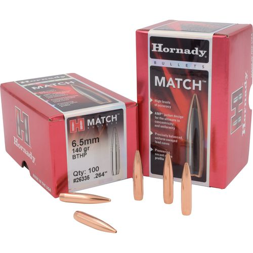 Display product reviews for Hornady BTHP Match™ 6.5 mm 140-Grain Bullets
