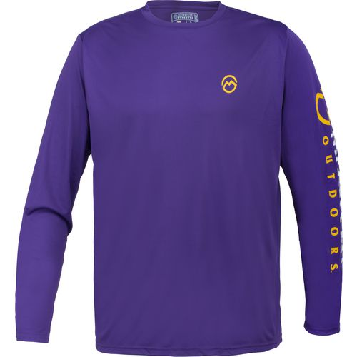 Display product reviews for Magellan Outdoors Men's Casting Crew Moisture Management Long Sleeve T-shirt