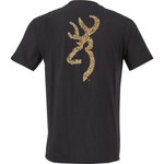 Browning Men's Wooded Buckmark T-shirt - view number 1