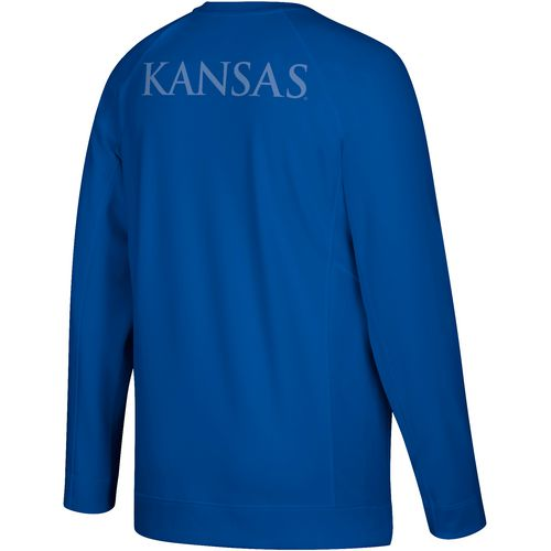 Adidas Men's University Of Kansas Shooting Long Sleeve