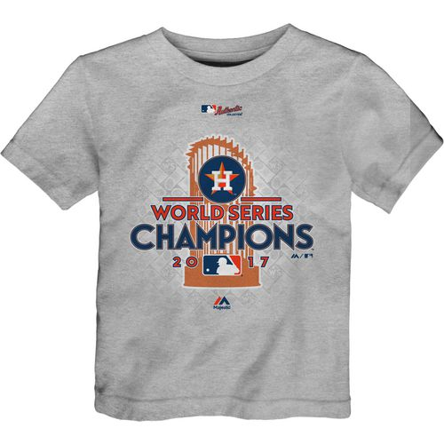 Majestic Toddlers' Astros 2017 World Series Champions T-Shirt