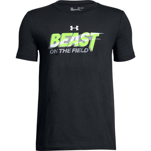 Under Armour Boys' Beast On The Field Short Sleeve T-shirt
