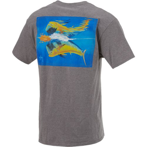 Guy Harvey Men's Mahi Reflections T-shirt - view number 2
