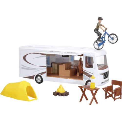Display product reviews for New-Ray Toys Xtreme Adventure Caravan Play Set