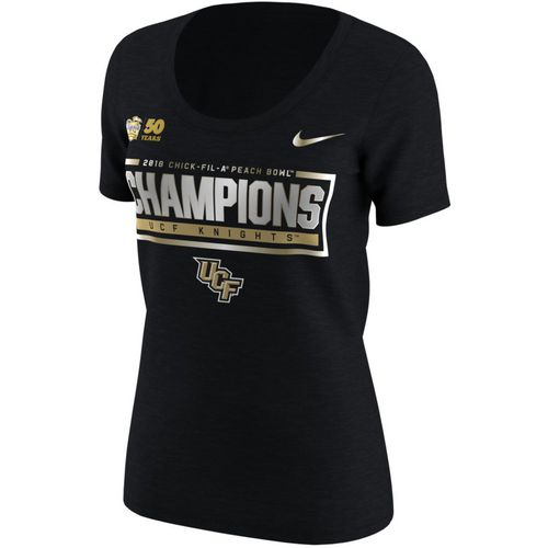 Nike Women's University of Central Florida Peach Bowl Champions T-shirt