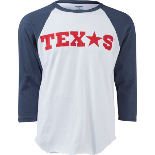 Rawlings Men's Texas Star Baseball T-shirt