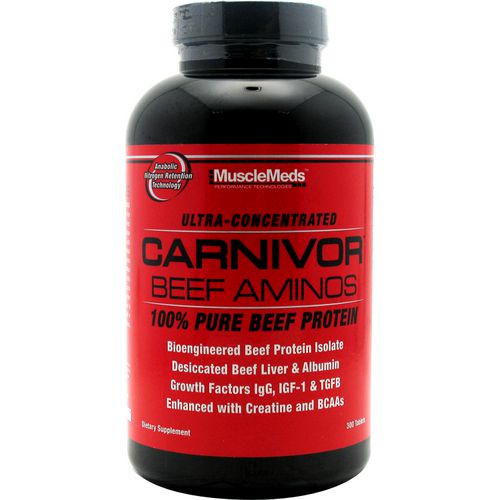 MuscleMeds Carnivor Beef Aminos Tablets