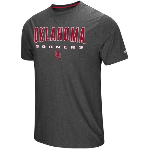 Colosseum Athletics Men's University of Oklahoma The Show Short Sleeve T-shirt