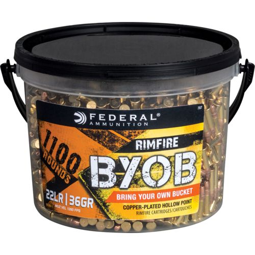 Display product reviews for Federal Premium BYOB .22 LR 36-Grain CPHP Rimfire Ammunition
