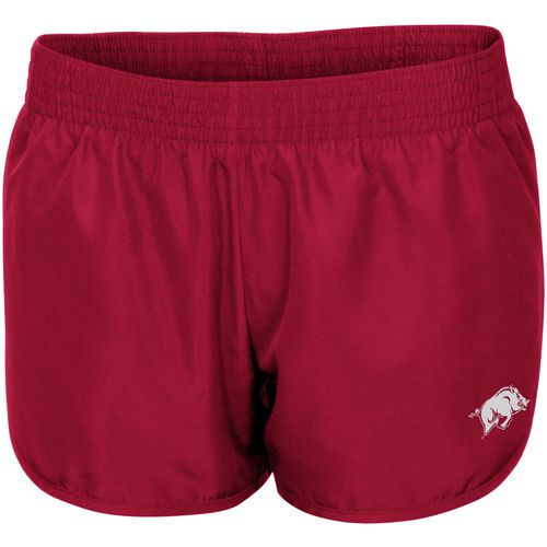Colosseum Athletics Women's University of Arkansas Reflective Logo Shorts