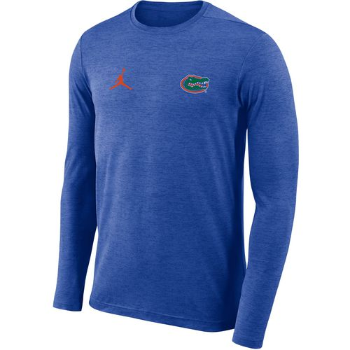 Nike Men's University of Florida Dry Coaches Jumpman Long Sleeve T-shirt