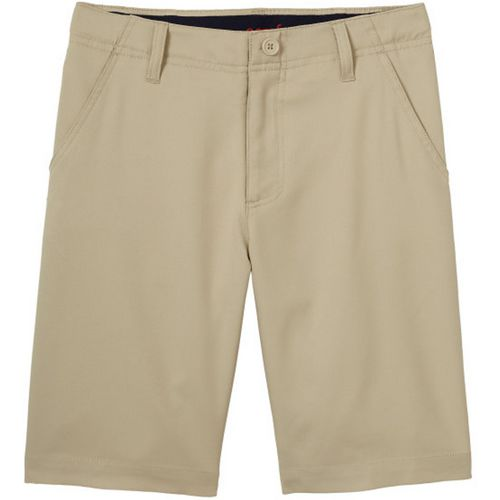 French Toast Boys' Flat Front Stretch Performance Shorts