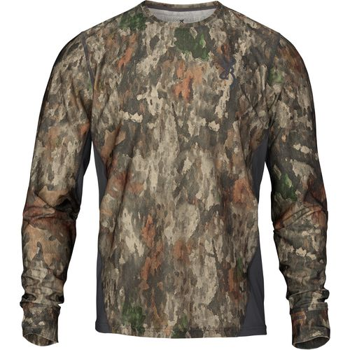 Browning Men's Hell's Canyon Speed Plexus-FM Long Sleeve Mesh T-shirt