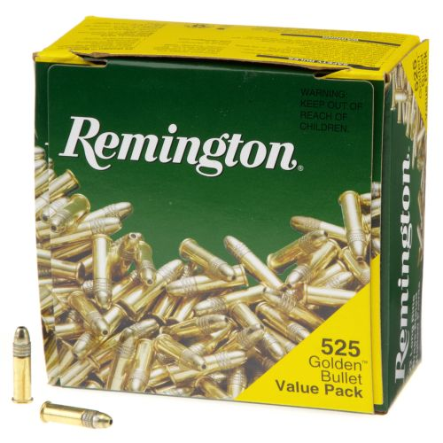 Display product reviews for Remington Golden Bullet HP .22 LR 36-Grain Rimfire Rifle Ammunition