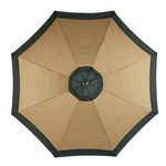Mosaic 9' Round Steel Market Umbrella - view number 1