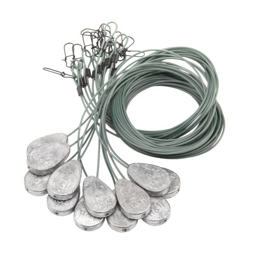 H&H Lure Tangle-Free Decoy Weights 12-Pack