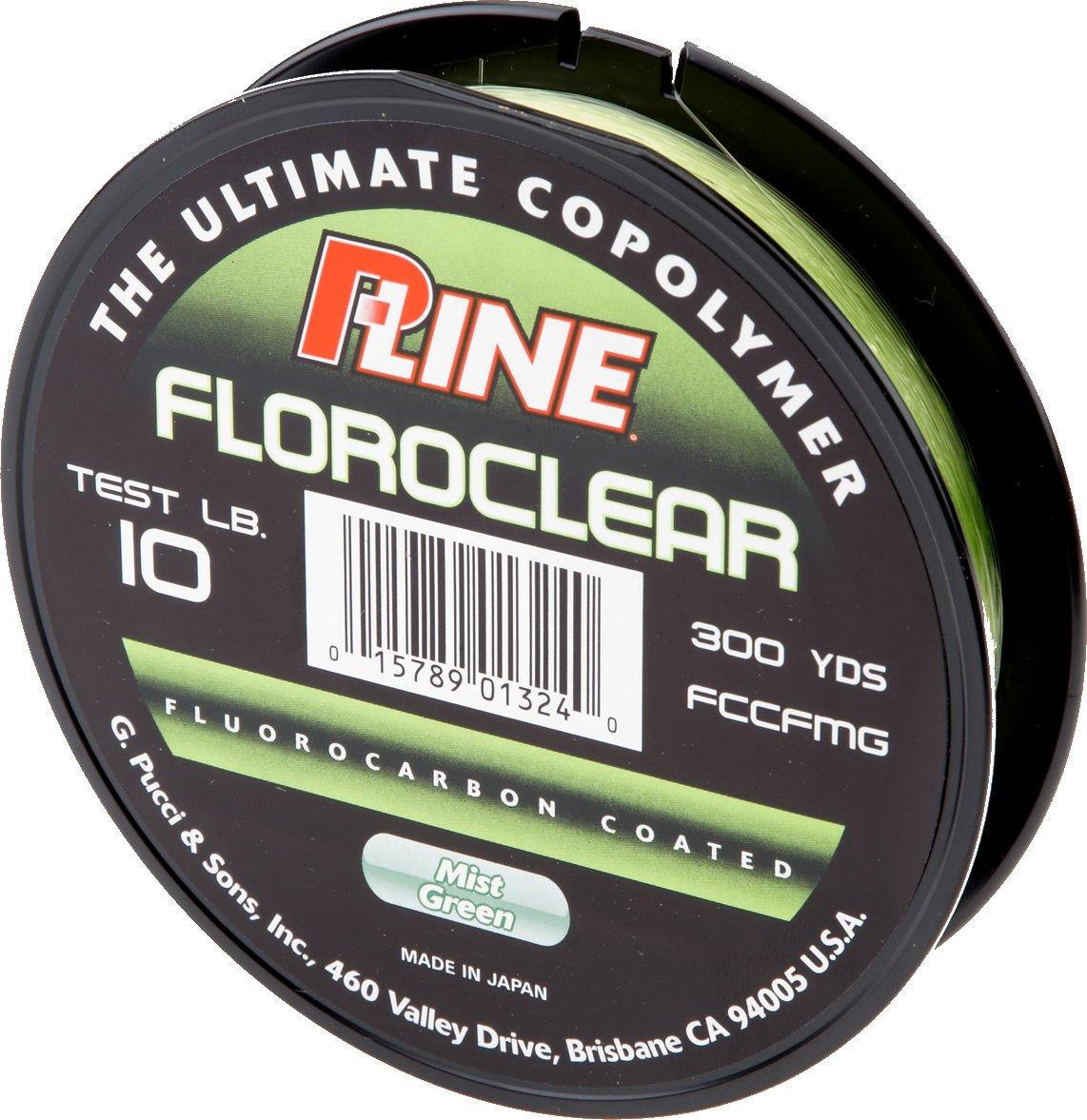 P-Line® Floroclear 10 lb. - 300 yards Fluorocarbon