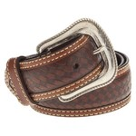 Magellan Outdoors Men's Star Concho Basket Weave Belt - view number 1