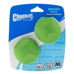 Chuckit! Medium Erratic Balls 2-Pack
