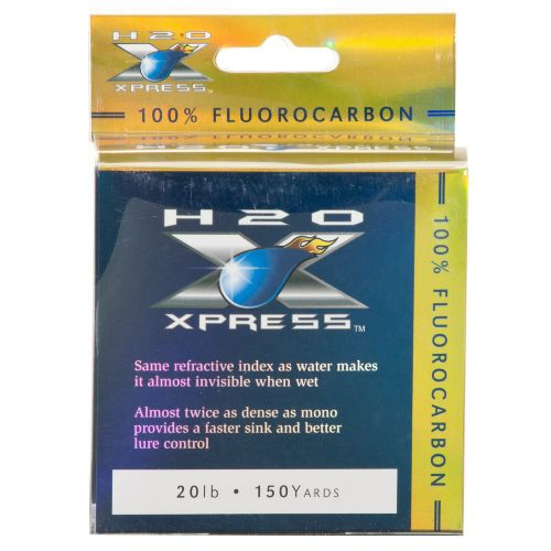 H2O XPRESS™ Fluorocarbon 150-Yard Fishing Line
