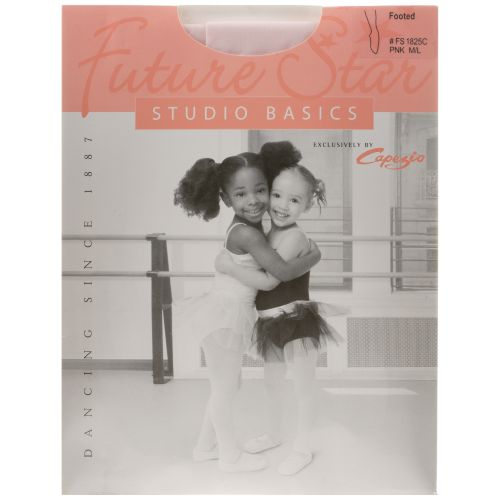 Capezio Girls' Future Star Basics Footed Tights