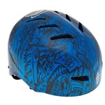 Tony Hawk Boys' Blue Skull Multisport Helmet