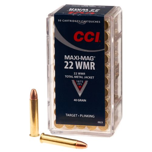 Display product reviews for CCI® .22 WMR Maxi Mag 40-Grain Rimfire Ammunition