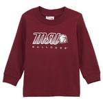 Viatran Toddlers' Dotty Mississippi State University Long Sleeve T-shirt