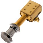 Marine Raider 2-Position Brass Push/Pull Switch - view number 1