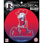 Tag Express University of Mississippi Round Decal