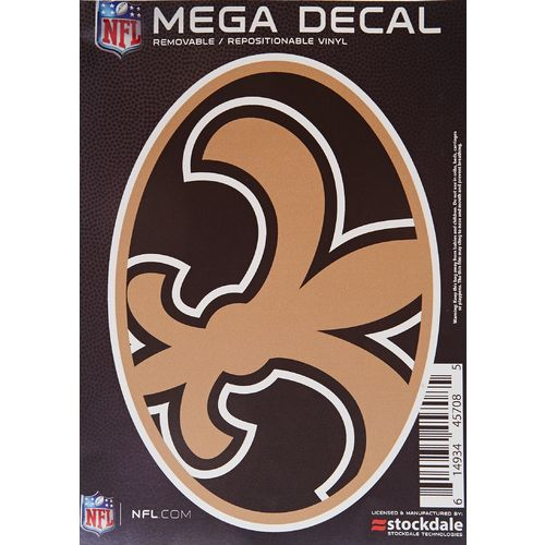 "Stockdale New Orleans Saints 5"" x 7"" Repositionable Decal"
