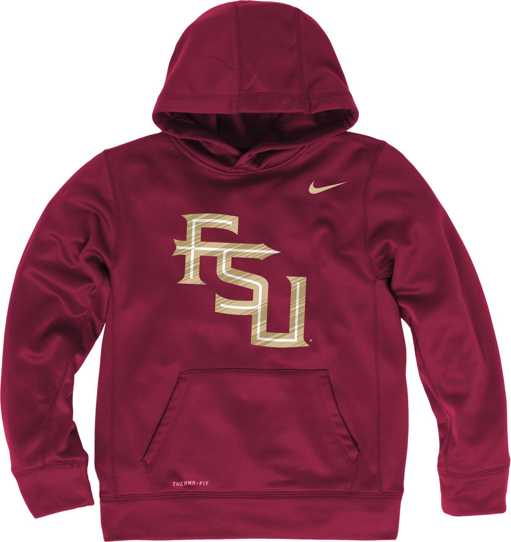 Nike Boys' Florida State University KO Pullover Hoodie