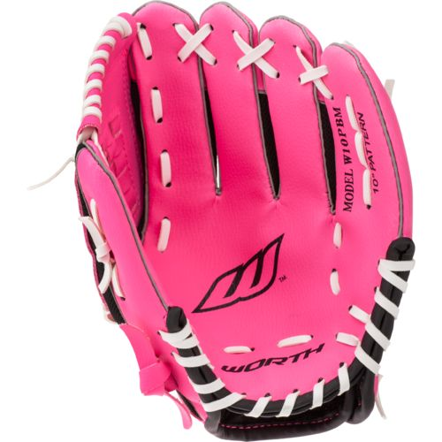 Worth Youth Basket Web 10 in Infield Glove