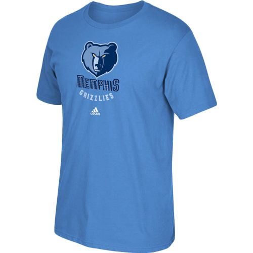adidas™ Men's Memphis Grizzlies Full Primary Logo T-shirt