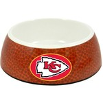 GameWear Kansas City Chiefs Classic NFL Football Pet Bowl