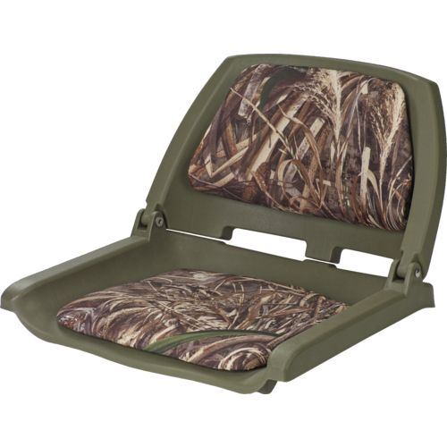 Display product reviews for Marine Raider Realtree Max-5® Padded Fold Down Boat Seat