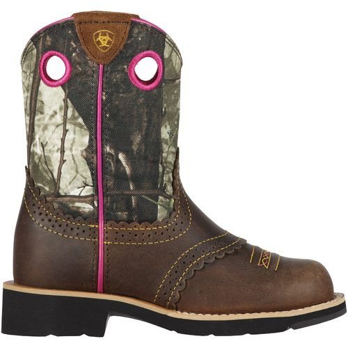 Display product reviews for Ariat Girls' Fatbaby Cowgirl Western Boots