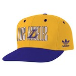 adidas Boys' Los Angeles Lakers Lifestyle Snapback Cap