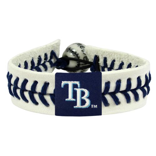 GameWear Tampa Bay Rays Genuine Baseball Bracelet