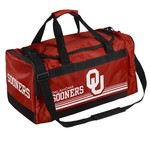 Forever Collectibles™ University of Oklahoma Medium Striped Core Duffel Bag