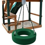 Gorilla Playsets™ 360° Turbo Tire Swing