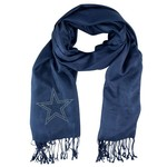 Little Earth Productions Women's Dallas Cowboys Crystal Pashmina Scarf