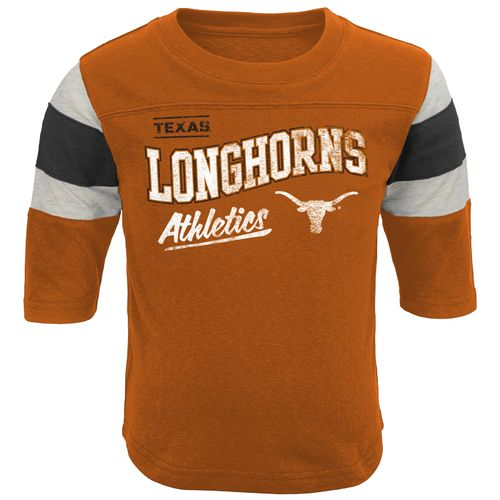 Genuine Stuff Toddlers' University of Texas Golden Days Classic Football T-shirt
