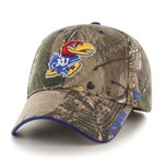 '47 Adults' University of Kansas Realtree Frost '47 MVP Cap