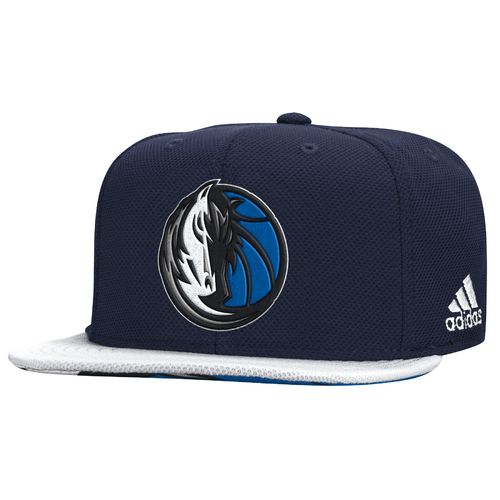 adidas™ Men's Dallas Mavericks Authentic Draft Flat Brim