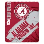 The Northwest Company University of Alabama Painted Fleece Throw - view number 1