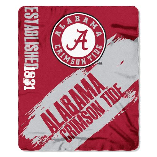 The Northwest Company University of Alabama Painted Fleece Throw
