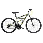 "Huffy Men's DS-1 26"" 21-Speed Dual Suspension Mountain Bike"