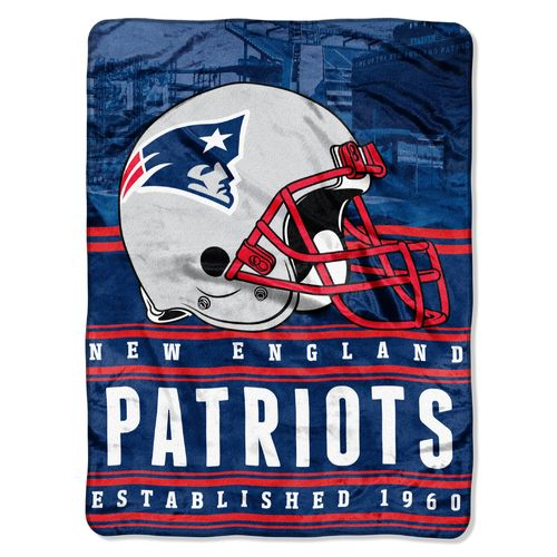 The Northwest Company New England Patriots Stacked Silk Touch Throw